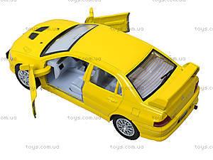Металлическая модель машины «Mitsubishi Lancer Evolution VII», KT5052W, набор