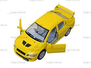 Металлическая модель машины «Mitsubishi Lancer Evolution VII», KT5052W, купити
