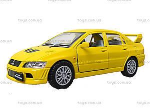 Металлическая модель машины «Mitsubishi Lancer Evolution VII», KT5052W, игрушка