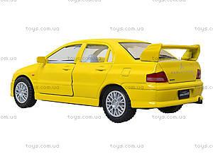 Металлическая модель машины «Mitsubishi Lancer Evolution VII», KT5052W, купить игрушку