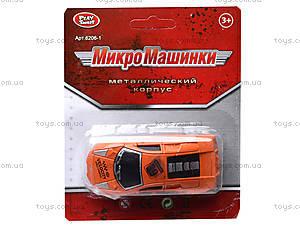 Металлическая машина «Микро», 6205-2A, игрушки
