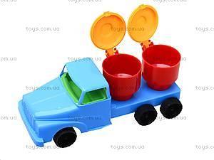Машина-мини «Молоковоз», 282, детские игрушки