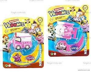 Розовая инерционная машинка «Врумиз», H1305B