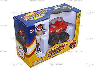 Игровой набор Blaze «Машина и фигурка», DT035X, отзывы
