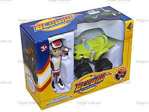 Игровой набор Blaze «Машина и фигурка», DT035X, детские игрушки