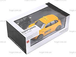 Машина на радиоуправлении для детей «Такси», TK168-1, игрушки