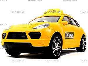 Машина на радиоуправлении для детей «Такси», TK168-1, детские игрушки