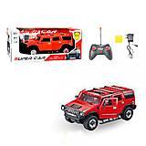 Машина на радиоуправлении для мальчиков «Hummer» красная, 3688-K25A