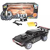 Машина на радиоуправлении «Форсаж: Dodge Charger» черная, 3312A, фото