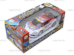 Машина на радиоуправлении «Гоночная трасса», 168-14, детские игрушки