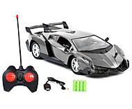 Машина на радиоуправлении «Lamborghiniр» серая, 34-5С, купить