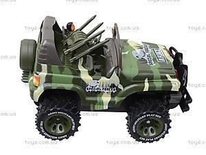 Машина на радиоуправлении «Военный джип», 3008, детский