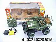 Машина на радиоуправлении «Военный джип с солдатами», 3007