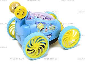 Машина-перевертыш «Губка Боб», HQ239-SB, игрушки