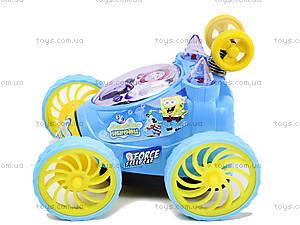 Машина-перевертыш «Губка Боб», HQ239-SB, детские игрушки