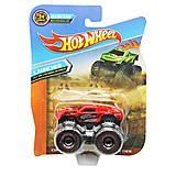 """Машина пластиковая """"Hot Wheel: Monster Truck"""" красный, 778-1A, купить"""