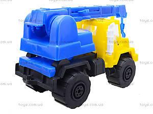 Игрушечная детская машина «Подъемный кран», MG-07705-509, купить