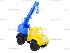 Игрушечная детская машина «Подъемный кран», MG-07705-509, фото