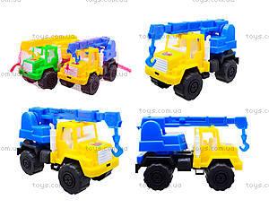 Игрушечная детская машина «Подъемный кран», MG-07705-509