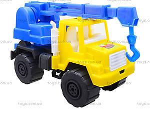 Игрушечная детская машина «Подъемный кран», MG-07705-509, отзывы