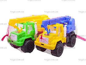 Игрушечная детская машина «Подъемный кран», MG-07705-509, цена