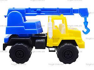 Игрушечная детская машина «Подъемный кран», MG-07705-509, игрушки