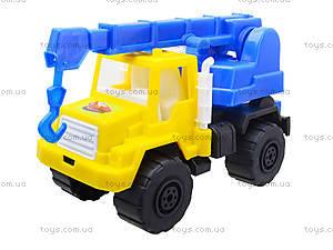 Игрушечная детская машина «Подъемный кран», MG-07705-509, детские игрушки
