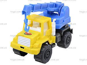 Игрушечный подъемный кран, 05-509, игрушки