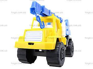 Игрушечный подъемный кран, 05-509, детские игрушки