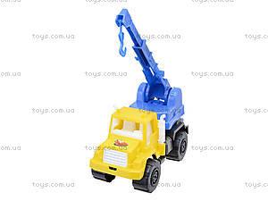 Игрушечный подъемный кран, 05-509, магазин игрушек
