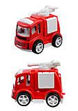 Машинка детская «Пожарный отряд», L2189-A, фото