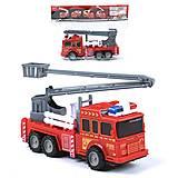 Машина пожарная с подъемником, 129-3, отзывы