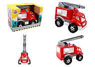 Машинка для тушения пожара, 5392, интернет магазин22 игрушки Украина