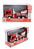 Машина пожарная, со световым эффектом, WY350B, купить