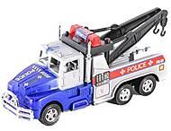 Машина полицейская «Эвакуатор» сине-серая, 919-02, отзывы