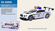 Машина «Полиция» с поворотным механизмом, 89-5689B, отзывы