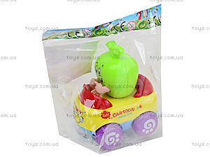 Игрушечная машина с фруктами, 171-1, фото