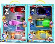 Машина с героями «Щенячий морской патруль» 3 штуки в наборе, 553-166A, отзывы