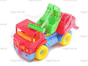 Детская игровая машина с ковшом,