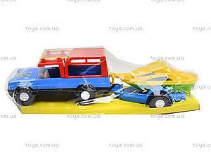 Автомобиль «Сафари» с прицепом, 39006, отзывы