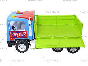 Бортовая машина-самосвал с лопаткой и пасочками, 14-006-100, цена