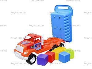 Машина-самосвал «Орел Б», с кубиками, 07-713-5, фото