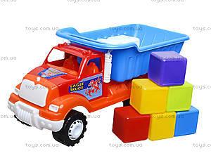 Машина-самосвал «Орел Б», с кубиками, 07-713-5, игрушки