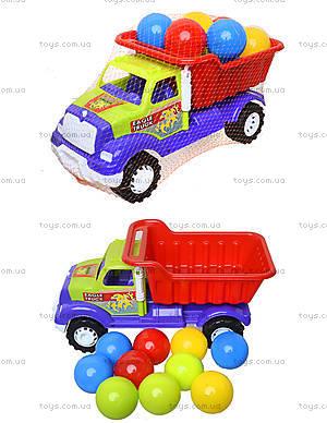 Детская машина «Самосвал Орел М» с 10 шариками, 07-712-4