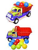 Детская машина «Самосвал Орел М» с 10 шариками, 07-712-4, фото