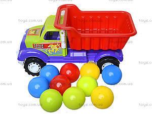 Детская машина «Самосвал Орел М» с 10 шариками, 07-712-4, цена