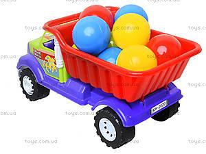 Детская машина «Самосвал Орел М» с 10 шариками, 07-712-4, игрушки