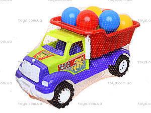 Детская машина «Самосвал Орел М» с 10 шариками, 07-712-4, детские игрушки