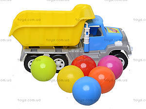 Игрушка-машина «Самосвал», с 6 шариками, 05-520-4, купить