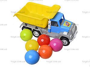 Игрушка-машина «Самосвал», с 6 шариками, 05-520-4, фото